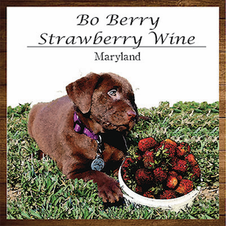 Bo-Berry Strawberry Wine Product Image